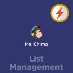MailChimp List Management
