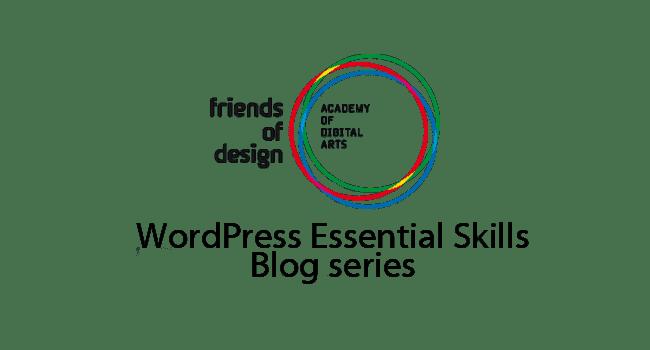 Friends of Design WordPress training – Day 1