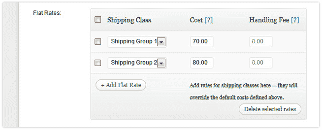 Shipping in SA with WooCommerce - Flat Rates | Cape Town Based