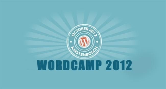 WordCamp Cape Town 2012 – It's coming