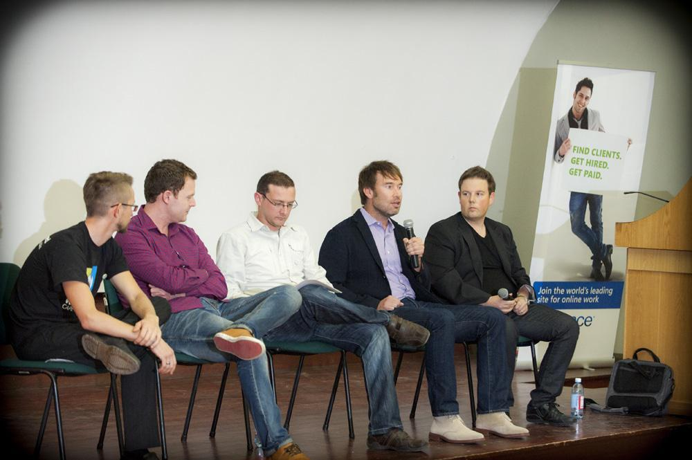 Discussion Panel at WCCT 2012
