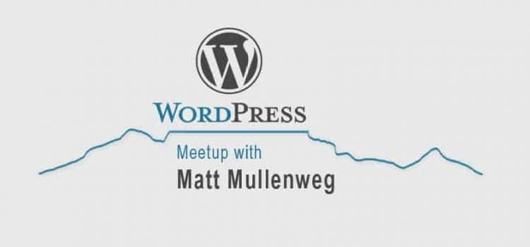 Matt Mullenweg to visit Cape Town
