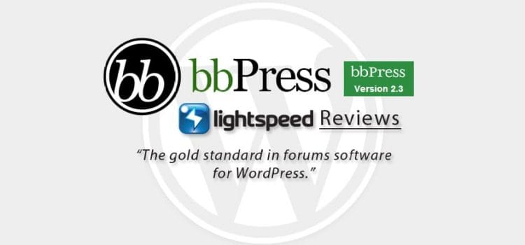 Welcome to bbPress 2.3