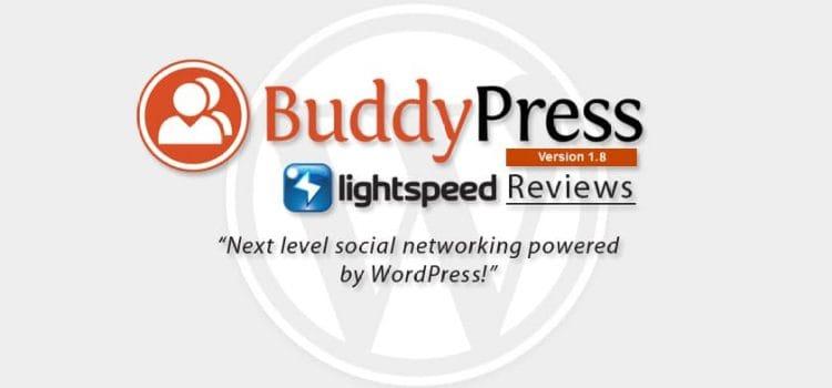 BuddyPress 1.8 review