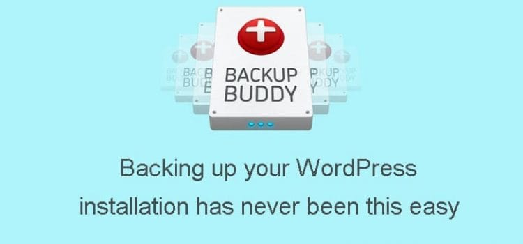 BackupBuddy: Backing up your WordPress installation has never been this easy