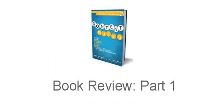 Content Rules: Book Review Part 1