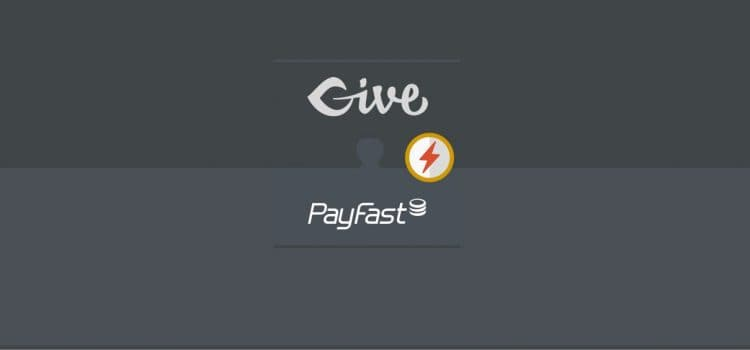 GiveWP PayFast Extension Version 1.1 Released
