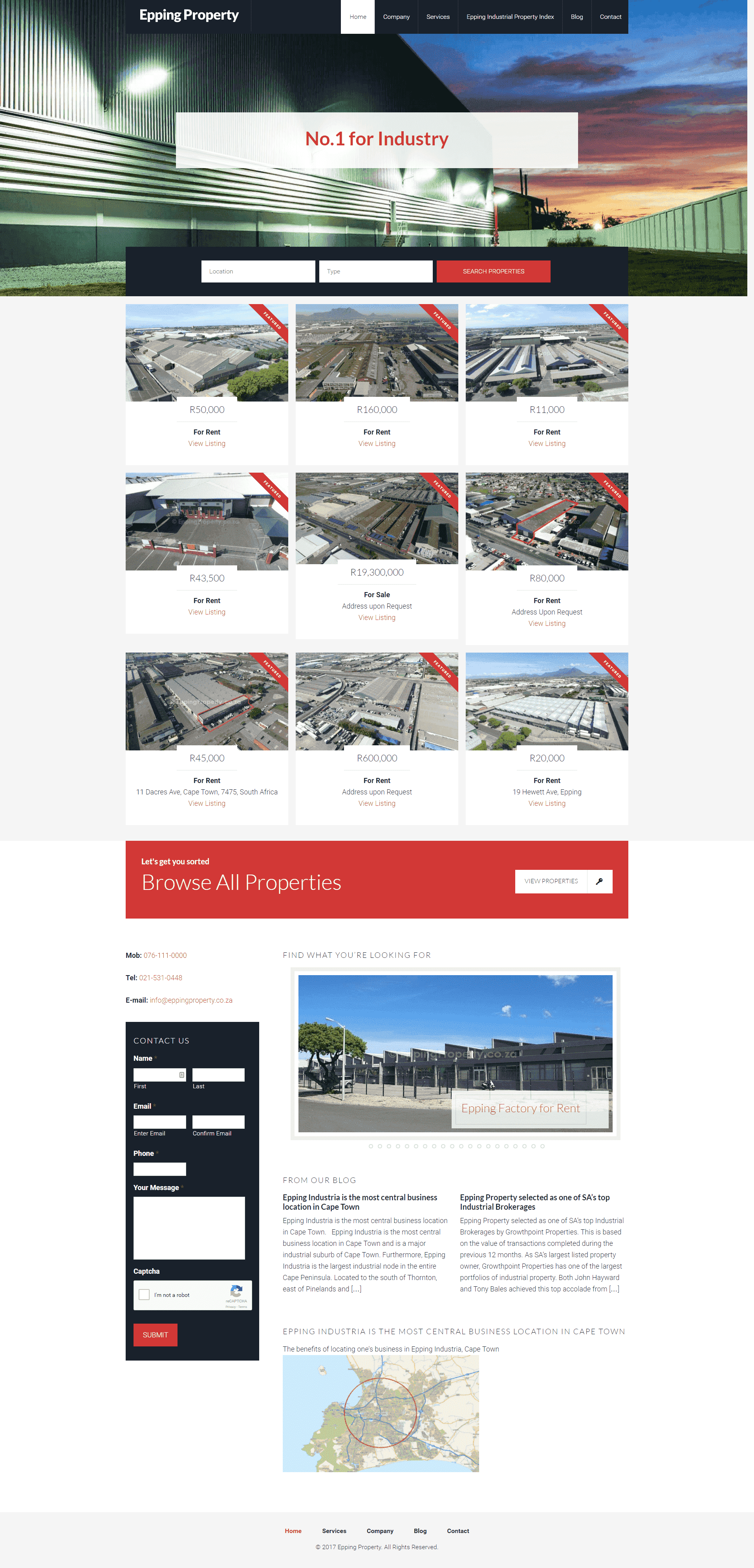 Epping Property screenshot 01