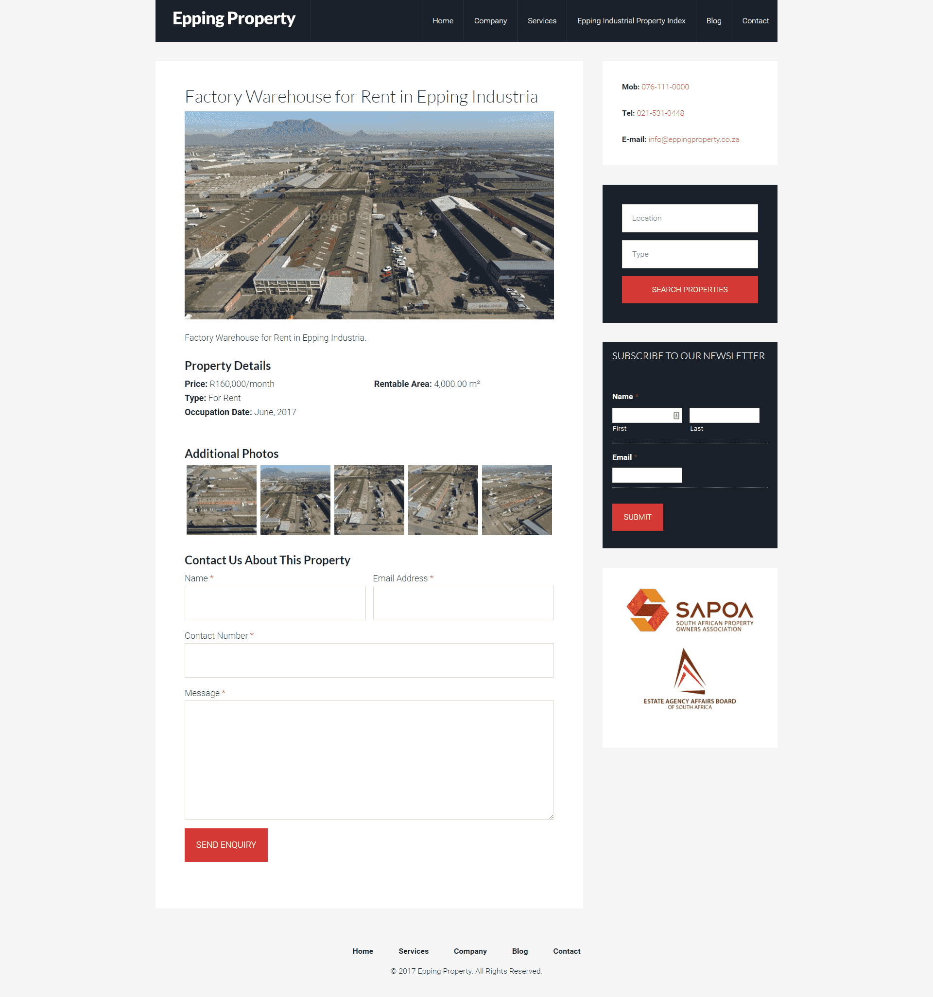 Epping Property screenshot 02