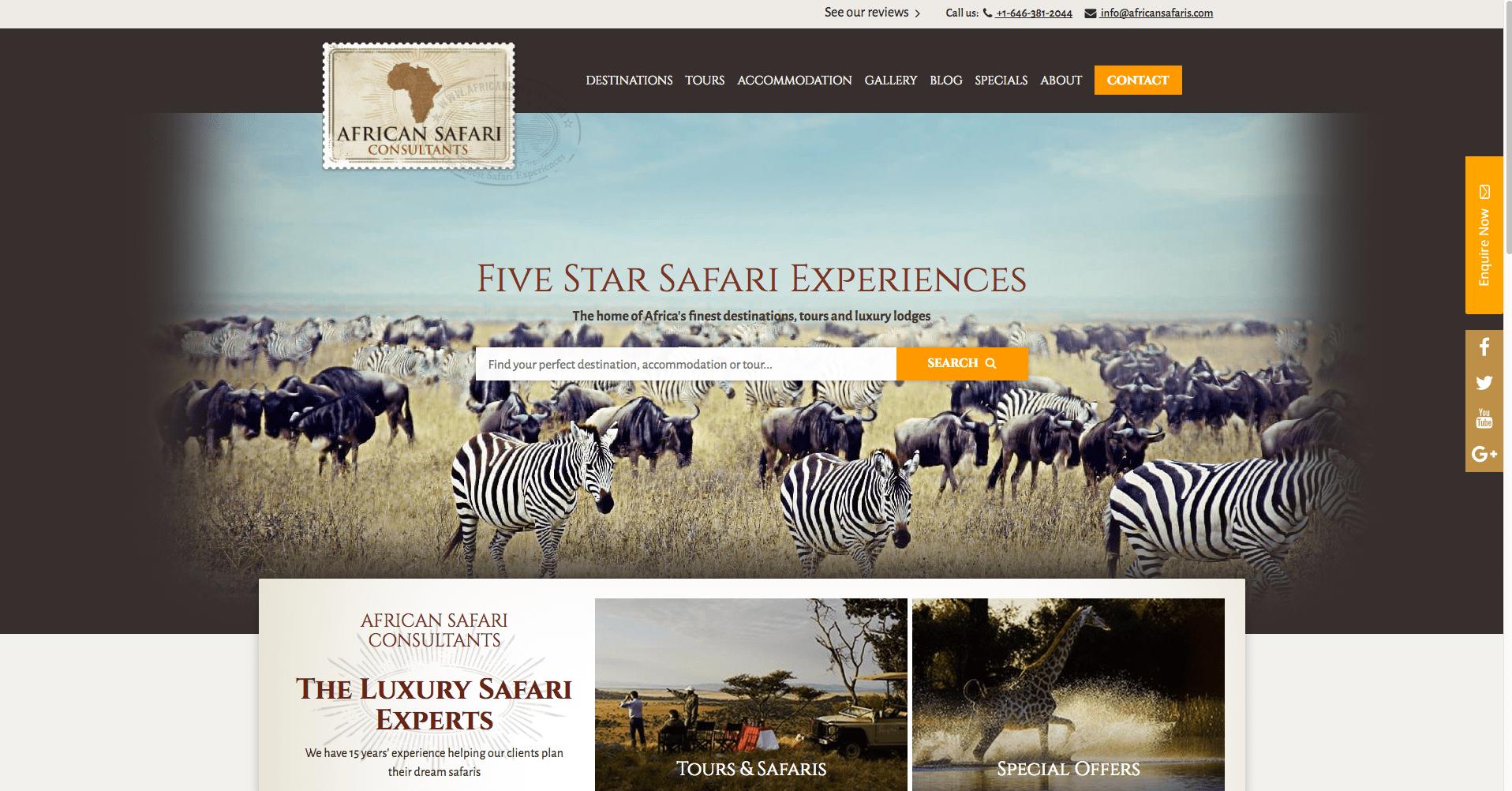 African Safari Consultants