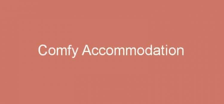 Comfy Accommodation: Website Template for Hospitality Businesses