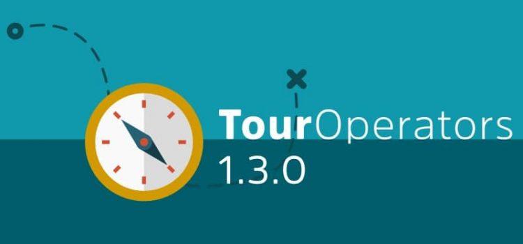 Tour Operator Plugin 1.3 Major Release